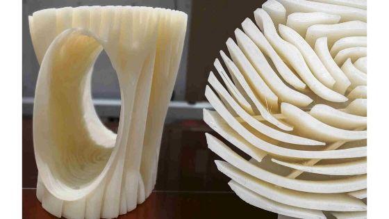 UTS creates personalized fingerprint stool using BigRep large-format 3D printing
